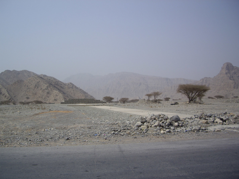 Recharge dams and barriers, Northern Emirates, UAE
